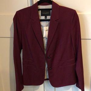 Banana Republic Maroon Blazer Suit Jacket Size 6